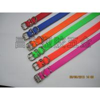 China All sorts of color waterproof pvc dog collar on sale