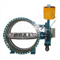 China DN 0.25 - 2.5 Mpa Hydraulic Counter Weight Flanged Butterfly Valve For Hydropower Project on sale