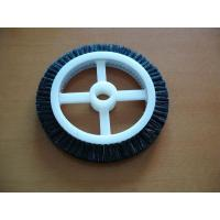 Quality Black Roll Cotton Stenter Brushes Wheel Mini For Textile Machinery for sale