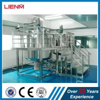 Quality Meets GMP Standard Hand Wash Liquid Soap Making Machine Chemical Liquid Shower Gel Filling Mixer And Blending Tank Machi for sale