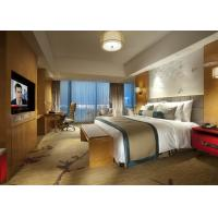 Quality King Size Commercial Hotel Furniture Luxury Bedroom Set for Single / Double Room for sale