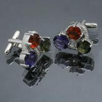 Quality Cuff Links, Made of Brass, Available in Various Styles for sale