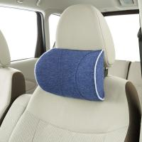 Quality Wholesale  memory foam Bule  butterfly shape soft car seat head neck rest pillow for sale