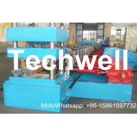 Quality W Beam Guardrail Roll Forming Machine for Highway Guardrail Crash Barrier for sale