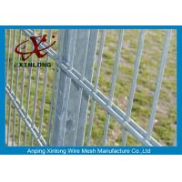 Quality Powder Station Double Wire Fence / Twin Wire Mesh Fencing High Tensile Strength for sale