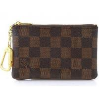 Quality Wholesale Coin Purse Brown Damier Coin Pouch Key for sale