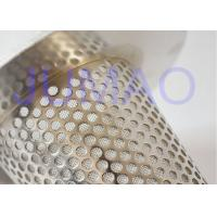 Quality Duplex Steel Sintered Conical Filter Element Used In Laboratory Fluid Bed for sale