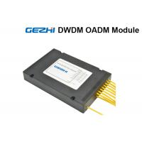Quality 16 Channels 100Ghz DWDM Mux Demux OADM Add / Drop East and West Module for sale