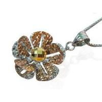China 925 Silver Jewellery Flower Pendant (sp0009) on sale