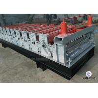 Quality Color Metal Profile Roofing Sheet Metal Roofing Machine With 3 Groups Rollers for sale