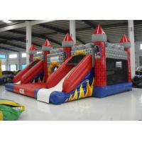Quality New Inflatable volcano bouncy castle full printing inflatable jumping castle combo beautiful color inflatable jump for sale