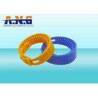 Buy cheap Contactless H3 Chip Uhf Rfid Tag Water Proof Hf Rfid Silicone Wristband Bracelet from wholesalers