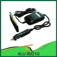 China Hot!!! 80W DC Universal Laptop DC Power Adaptors with USB ALU-80D1G on sale