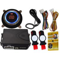Quality Invisible Car Engine Start Stop System With Ignition Button , RFID Anti Theft Protection for sale