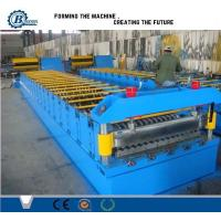 Quality Automatic Metal Steel Panel Roof Sheet Roll Forming Machine Roof Tile Making Machine for sale