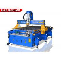 Quality Aluminum Cutting Metal Engraving Machine With Fixed Rotary 1300 X 2500 X 200mm for sale
