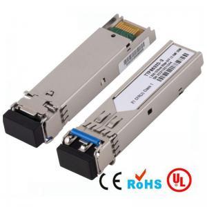 Quality CWDM / DWDM SFP-100-LC-SM40 Single Mode Fiber Optic Transceiver Module 1310nm for sale