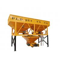 Quality Automatic Control Concrete Batching Machine Quick With 2 Silo PLD2400 Model for sale