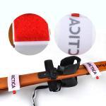 Quality Wrist Protection Hook Loop Ski Strap Band OEM With EVA / Rubber , Black for sale