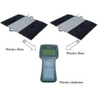 Easy Operate Portable Vehicle Scales , Static / Dynamic Wireless Truck Scales