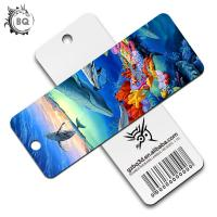 Quality Plentiful Designs Deep 3D Lenticular Bookmark / Personalized Picture Bookmarks for sale