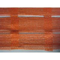 Quality Anti UV Industrial Safety Netting For Construction Plant , Orange And White for sale