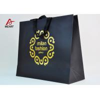 Buy Cotton Ribbon Personalized Wine Bags Paper Material , Custom Business Shopping Bags at wholesale prices