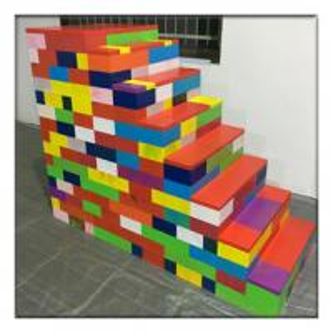 China New design building blocks toys for kids,educational carton picture blocks large lego building blocks on sale