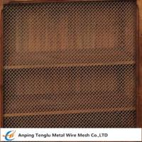 Quality Wire Mesh Grille Inserts| Press Crimp Weave by Cold Rolled Steel for sale