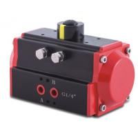 Buy cheap 0~90 Degree ISO5211 Standard Black Anodized Pneumatic Rotary Actuator from wholesalers