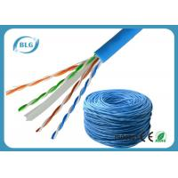 Quality Solid UTP Cable Ethernet Cat 6 Network Internet Cord 4 Pair Pure Bare Copper Wire 23AWG for sale