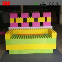 China Rotational Moulding Kids Playing Blocks , Plastic Building Blocks For Toddlers on sale