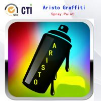 China Solvent Based / Water Based Graffiti Spray Paint With Fat / Medium / Skinny Nozzle on sale