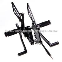 Quality Dust Resistant Suzuki GSXR Rearsets , Motorcycle Adjustable Rearsets GSXR for sale