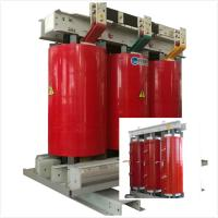 China Fireproof Air Cooled Transformer 6.6 KV - 800 KVA With Silicon Steel Sheet Core on sale