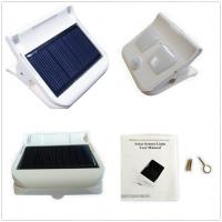 Buy cheap Solar sensor clip light,outdoor security solar lights,automatic work,patent from wholesalers