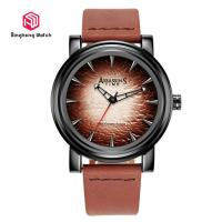 Buy cheap Assassin' S Time Genuine Leather Strap Wrist Watches Creative Men Gift Dsign from wholesalers