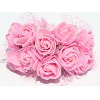 Quality Environmentally Beautiful PE Foam Rose Flower Heads EVA roses Handmade DIY Flowers for sale