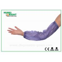 Quality Eco friendly disposable plastic arm sleeves Working Kitchen PVC Safety for sale