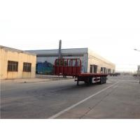 Quality 3 Axles Steel Flatbed Semi Trailer Mechanical Suspension Leaf Spring 13mmx90mm for sale