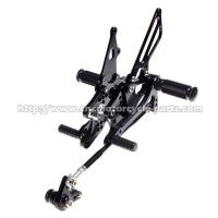 Quality CNC Honda Cbr600rr Rearsets , Cbr600rr Adjustable Rearsets Easy Installation for sale