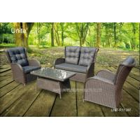 Quality 4 Piece Backyard Patio Set , Outdoor Garden Furniture Table And Chairs for sale
