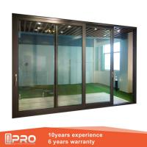 Quality Aluminum Sliding Glass Patio Doors , Modern Design Custom Sliding Glass Doors for sale