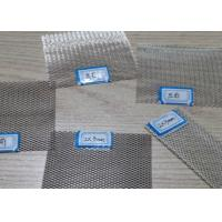 Quality 99 Pure Silver Metal Mesh Fabric , Diamond Wire Mesh Thermal Conductivity for sale