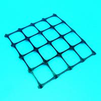 Quality Extruded Polypropylene Plastic Geogrid Soil Reinforcement Biaxial Geogrid for sale
