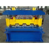 China Automatic High Speed Sheet Metal Roll Forming Machine For Making Floor Decks on sale