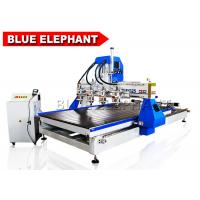 Quality 1325 Multi Spindles Multifunction Automtaic 3D Wood Carving Machine Cnc Router 5D with 4 Rotary Devices for sale