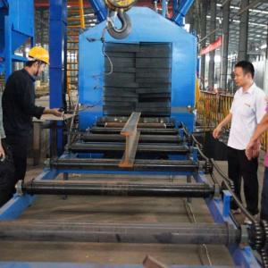 China QH69 Series H Beam Wheel Blasting Machine/Abrasive Blasting Machine on sale