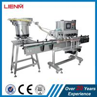 Quality LIENM Factory automatic shampoo,liquid soap,detergent,high speed capping machine,Screw Capping Machine With Cap Sorting for sale