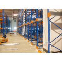 Buy Warehouse Racking Shelves Radio Shuttle Storage System Stable To 12 Meters High at wholesale prices